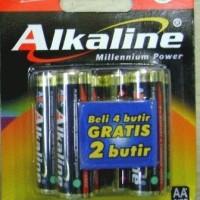 ABC Alkaline AA 6 PCs Pack (1 Carton = 6 Pcs x 12 Packs)