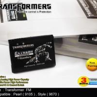Jual Baterei, Batere, Baterai Double Power Transformer Blackberry Tipe F-M1/FM1 2800 mAh (Tipe Slim , No Pairing)