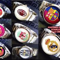 JAM TANGAN BOLA FOOTBALL CLUB STAINLESS