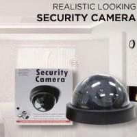 cctv camera (fake/dummy) kamera seperti asli with LED