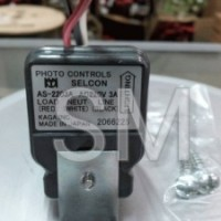 Sensor Cahaya (Photocell) (Photo Control) Selcon 220V 3A AS-2203A