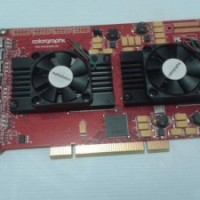 COLORGRAPHICS XENTERA GT 8 MULTI-SCREEN PCI GRAPHICS CARDS 256MB/128BIT