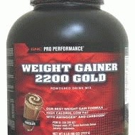 GNC PP Weight Gainer 2200 Gold Dutch Chocolate Flavor - 6 Lb (96 OZ) Powder