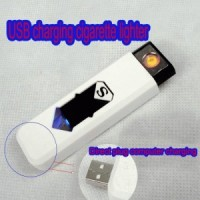 Korek Api USB Electronic USB Cigarette Cigar Lighter Rechargeable Battery Flameless Windproof