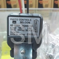 Sensor Cahaya (Photocell) (Photo Control) Selcon 220V 6A (Ampere) AS-2206A