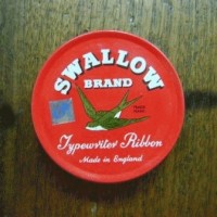 Ribbon Cartridge - Swallow Brand Typewriter Ribbon