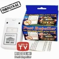 RIDDEX PLUS Pest Repeller ( STIKER BENING ) - Alat Pengusir Tikus, Kecoak, Nyamuk tanpa racun