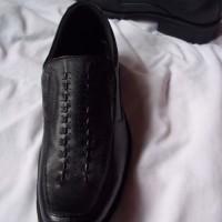 Jual Sepatu Formal Pria terbuat dari Kulit Asli Magetan, type DarkAny size 38