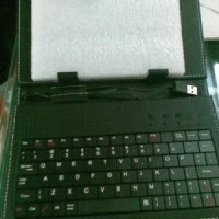 Leathercase Keyboard Untuk Tablet 8 Inch