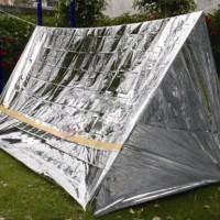 Tenda Emergency Aluminium : Emergency tent emergency shelter Survival Rescue tent Survival tent