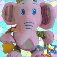 Mykiddiefashion - Boneka ELC Pink Elephant