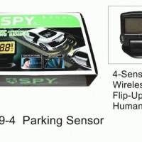 sensor 4 titik with talking & wireless display