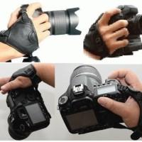 Hand Grip Strap Pro untuk kamera DSLR Mirrorless DSLM Prosumer CANON NIKON SONY OLYMPUS PANASONIC PENTAX dll