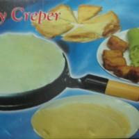 Creeper Pan DarLing (kue Dadar GuLing) Set, Wajan Terbalik, Alat Pembuat Kulit Lumpia-Martabak-Dadar-Crepes