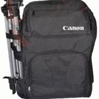 Tas Camera Ransel Bag For DSLR + Jas Hujan (Laptop In) ~ 2 Body + 5 Lens in ~ Surabaya | Code Bag: C/N R-03G