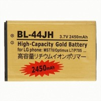 LG Motion 4G MS770 2450mAh High Capacity Gold Business Battery (BL-44JH)
