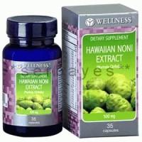 8021A - Suplemen nutrisi vitamin mineral Wellness Hawaiian Noni Extract isi 35