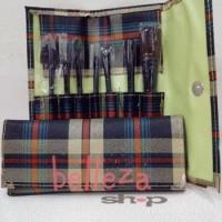 Kuas Make Up Brush Tool Salon Set Isi 7 Pcs With Bag Cantik