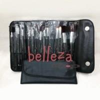 Kuas Make Up Brush Tool Salon Set Isi 12 Pcs With Bag Cantik
