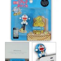 Plug 3.5 mm Audio Jack Dust Cover Doraemon