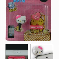 Plug 3.5 mm Audio Jack Dust Cover Hello Kitty Pink