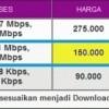 Kartu internet SmartFren 30 Hari Unlimited 3,1 Mbps