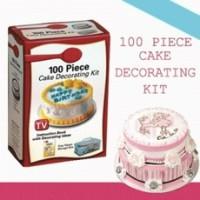 100 Piece Cake Decorating Kit As seen TV