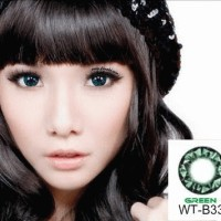 Softlens Geo Diamond Green WT-B33 Diameter 15mm