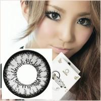Softlens Geo Angel Grey CM-835 Diameter 14mm