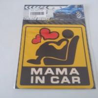 STICKER - MAMA IN CAR