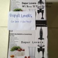 Jual Oxone Hand Blender & Chopper kode ox-292, Blender Tangan, Blender Serbaguna, Blender Baby Food Maker Murah