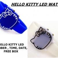 JAM TANGAN DIGITAL LED HELLO KITTY WATCH
