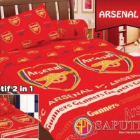 Football - Arsenal BED COVER SET 120 x 200 cm