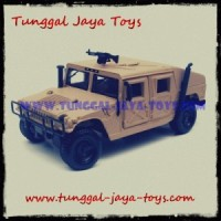 Diecast Humvee Military 1/27 Maisto