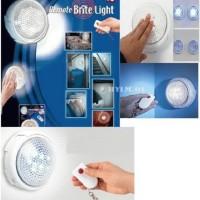 Remote Brite Light - Lampu dgn tombol Remote (Light wireless remote control)