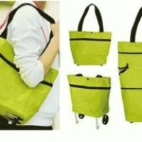 Trolley Foldable Shopping Bag / Tas Trolley Lipat