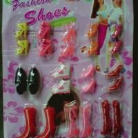 Mainan Sepatu Barbie Fashion Shoes