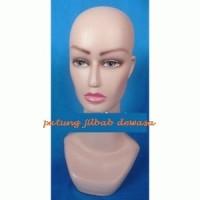 manekin/patung kepala dewasa