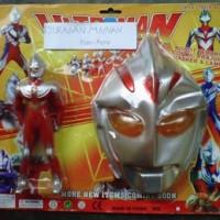 Mainan Robot Ultraman+Topeng