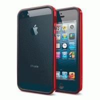 Spigen SGP iPhone 5 / 5S Neo Hybrid EX Slim Vivid - Dante Red