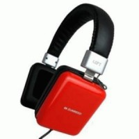 Zumreed Square Portable Stereo Headphones ZHP-010 - Red