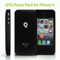 QYG-Power FC8 ,1400mAh External Battery Juick Power Pack+Case for iphone 4