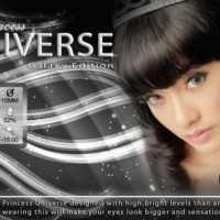 Softlens Princess Universe Grey Diameter 15mm