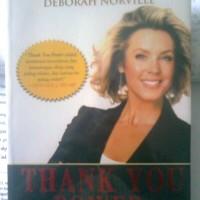 "Buku: Thank You Power - Kekuatan Di Balik Kata ""Terima Kasih."""