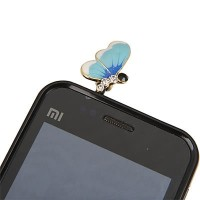 B75021 biru | plug headset hp import gaya korea koleksi ichika shop
