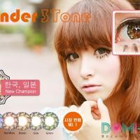 Softlens Coco Eye Lavender 3 Tone Brown Diameter 22mm