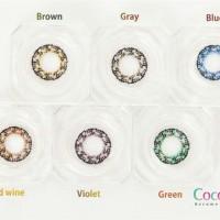 Softlens Coco Eye Lavender 3 Tone Diameter 22mm