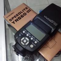 Flash Yongnuo YN 560 III wireless untuk DSLR Canon Nikon