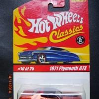 HOT WHEELS 1971 PLYMOUTH GTX HOT WHEELS CLASSICS SERIES 1 SPECTRA FLAME ORANGE