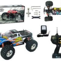 MAD TRUCK - HENG LONG 1:10 Super Speed Monster Truck 4WD 3851-2
